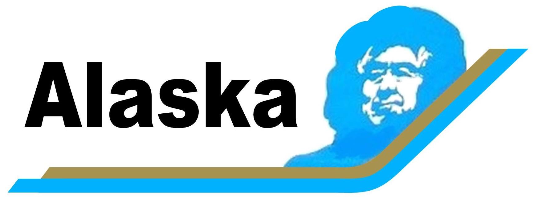 A Alaska Airlines Eskimo Logo Airlinelogos Net