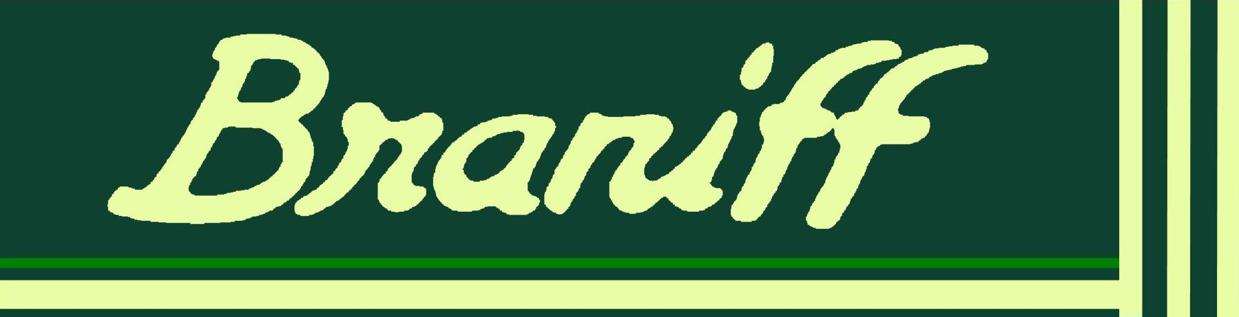 "Braniff - Perseus Green ""Ultra""